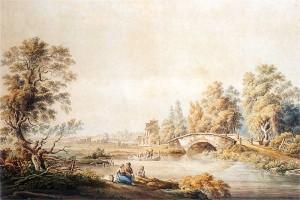Służew. Vogel, Ogród Mokotowski, 1792